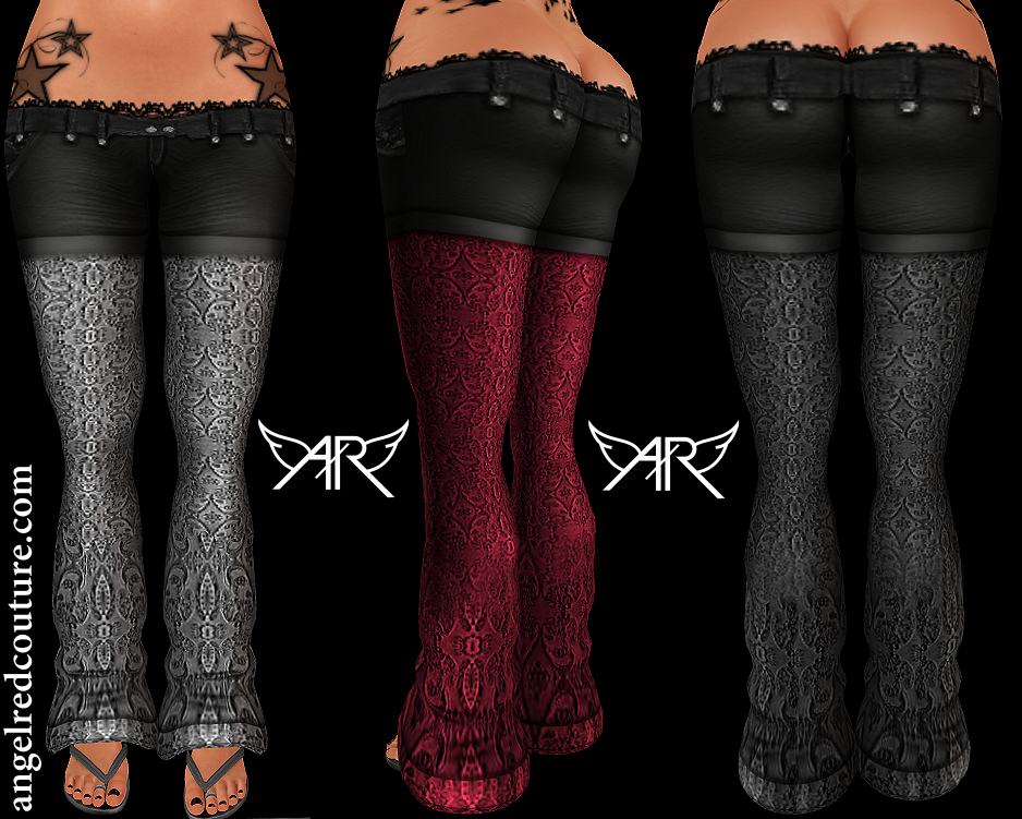 AngelRED – FULL PERM Ironic Shorts & Lace Pants Kit
