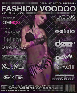 Fashion Voodoo Flyer1