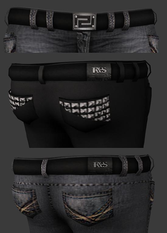 Imvu Spike Belt Textures