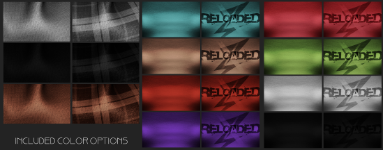 Reloaded Color Options