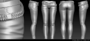 Whisper Pants Mesh Example1
