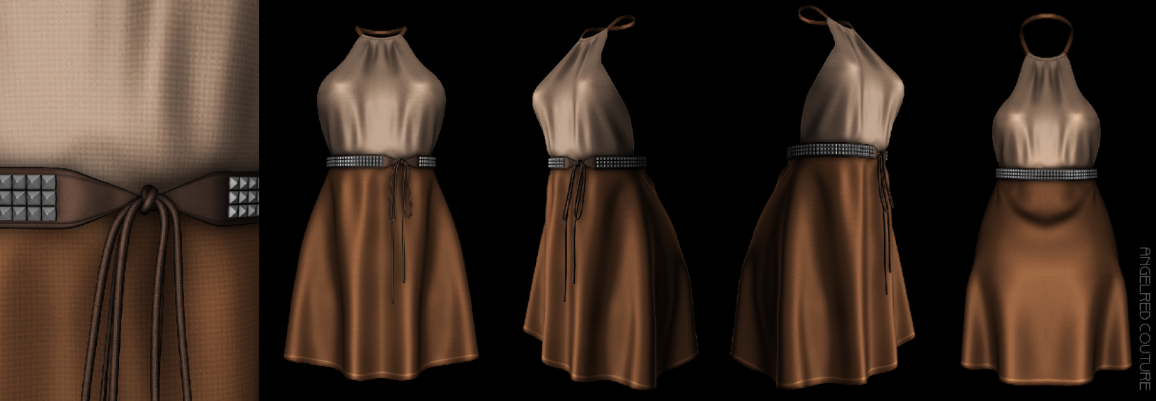 avenuedress 360 texture preview angelred couture