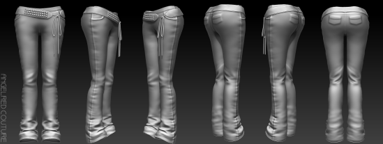 Forever Jeans 360 Mesh Preview