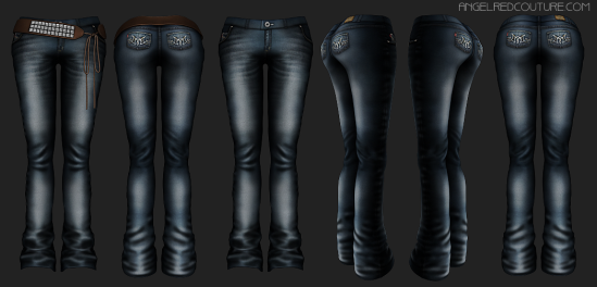 Forever Jeans 360 Texture Preview
