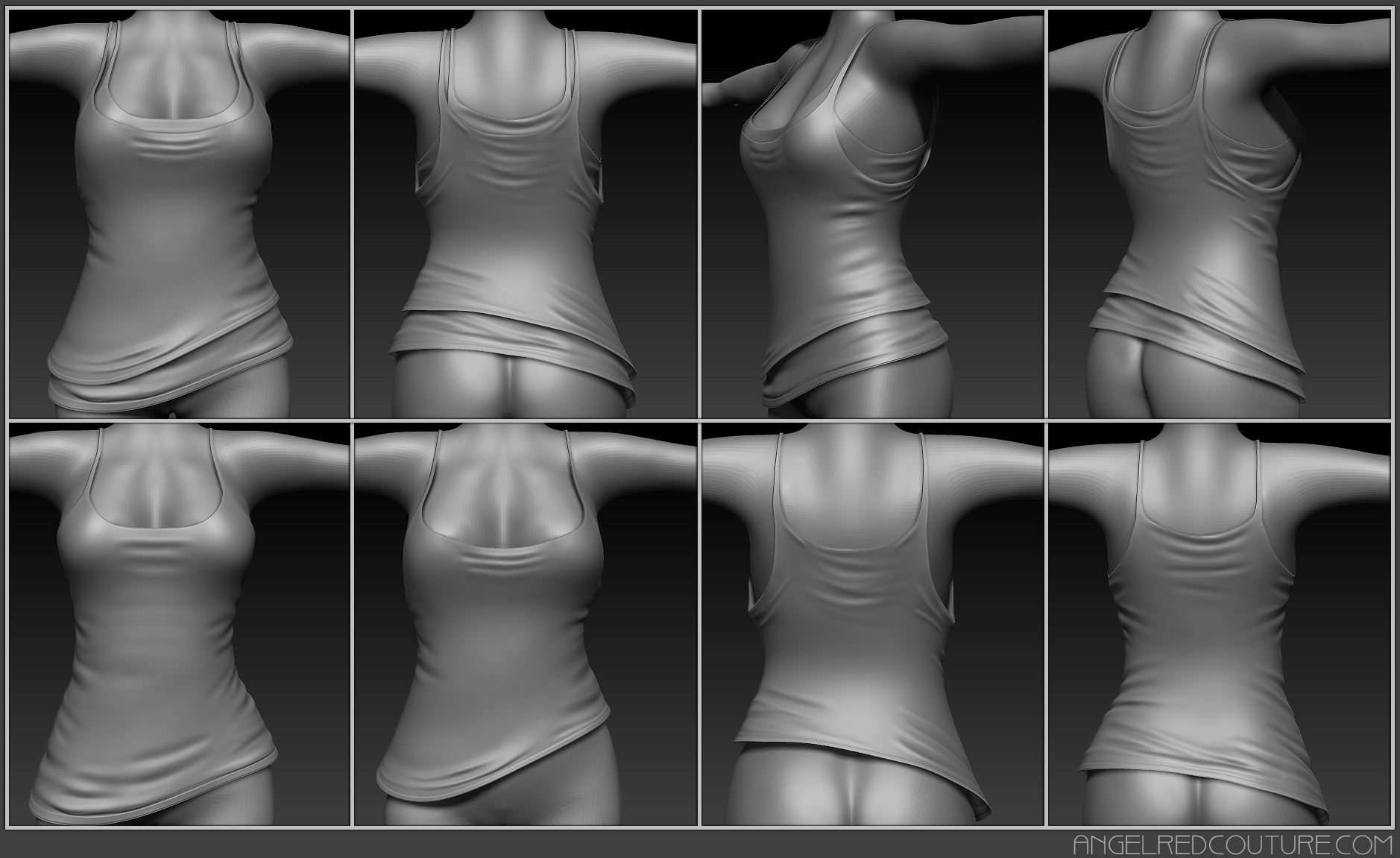 Zbrush With Crack Mesh Preview
