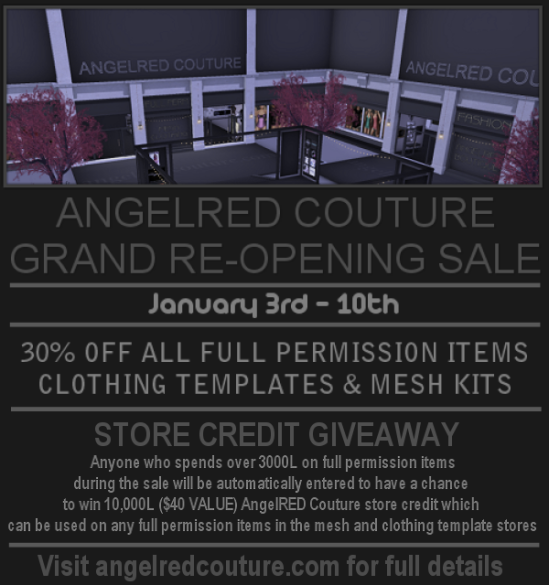 AR Reopening Sale Flyer